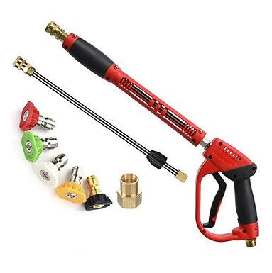 Pistola de Alta pressão 5000 PSI para lavagem de carros, quintal e outros