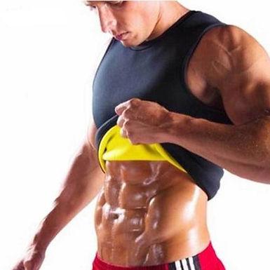 Cinta modeladora corporal para homem. Ajuda a queimar a gordura corporal