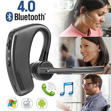 Auricular sem fio Bluetooth 4.0 para iPhone Samsung HTC