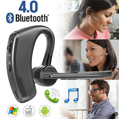 Auricular sem fio Bluetooth 4.0 para iPhone Samsung HTC