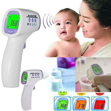 Termómetro digital infravermelho para medição da temperatura corporal