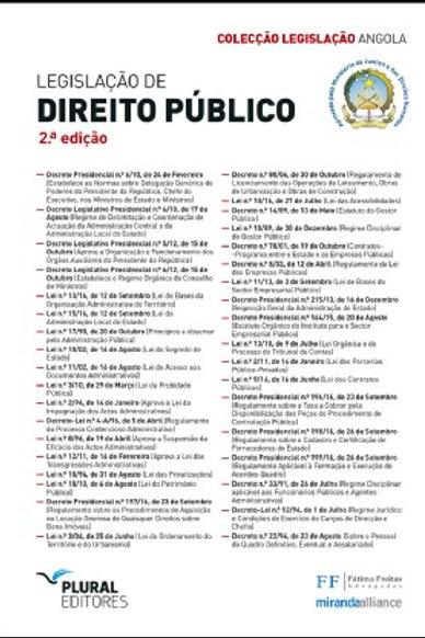 Legislação de Direito Público-Angola