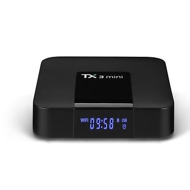 Smart TV BOX TX3 mini 2GB/16GB Amlogic S905W Quad core 64 Bits WiFi Smart 4K
