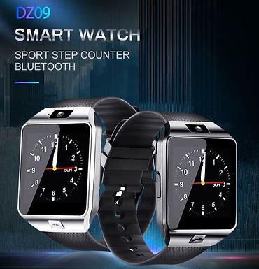 Relógio inteligente DZ09 Fitness Bluetooth c/ camêra, suporte Cartão SIM