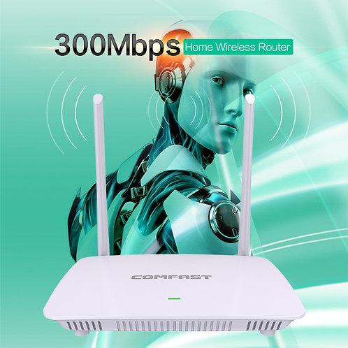 Roteador e repetidor Wifi sem fios 300 Mbps COMFAST WR625N V2 1WLAN+4LAN