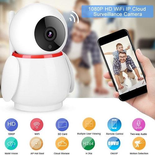 Mini Camera PTZ Inteligente de segurança sem fios HD  1080P