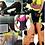 Cinta modeladora de cintura e fitness p/mulher