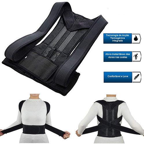 Corrector de postura lombar ajustável, UNISEXO