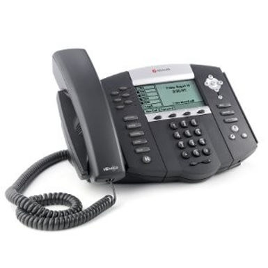 IP Phone Polycom IP650 PoE LAN HD Voice - Novo