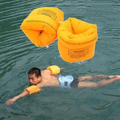 Braçadeiras inflaveis para natação