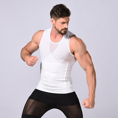 Cinta modeladora masculina com 3 linhas de ganchos JUST-ONE shapers