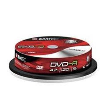 Caixa de 10 DVD-R