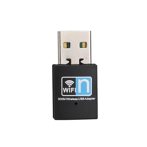 Mini Adaptador de rede USB WiFi 300Mbps Wireless-N