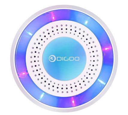 Sirene de alerta s/fio p/ Sist. inteligente de segurança doméstica DIGOO DG-HOSA
