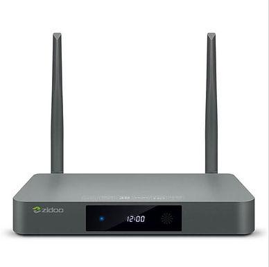 Smart Tv Box ZIDOO X9S 2GB/16GB OpenWRT (NAS) Blu-ray Navigation TV BOX