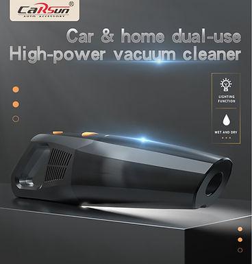 Aspirador a vácuum sem fio de alta potência 50W para carro e casa CARSUN