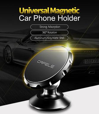 Suporte magnético universal para telemoveis, tablets e GPS em viaturas