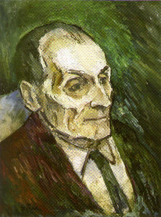 Portrait du grand-père