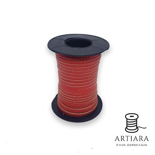 Tira Piton 5mm Vermelho