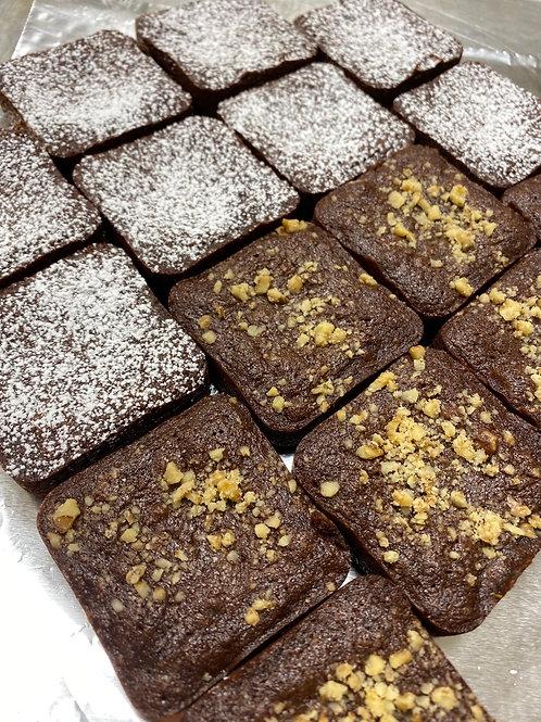 Brownies  w/wo nuts
