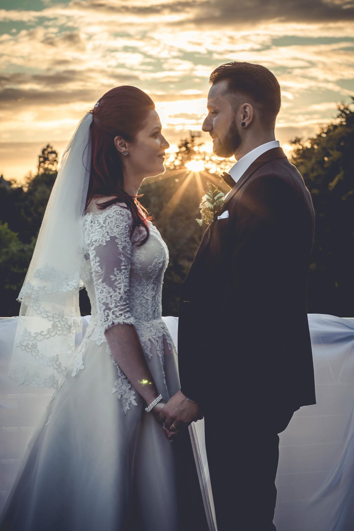 Sunset Wedding Shoot