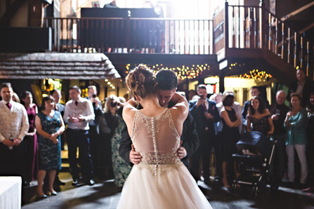 First dance at Cooling Castle Barn