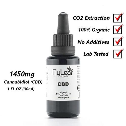 1450mg Full Spectrum CBD Oil, High Grade Hemp Extract (30mg/ml)