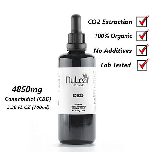 4850mg Full Spectrum CBD Oil, High Grade Hemp Extract (50mg/ml)