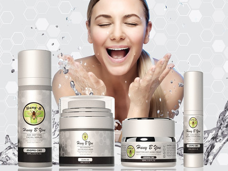 Improve your skin's health and appearance naturally with CBD skin care products!