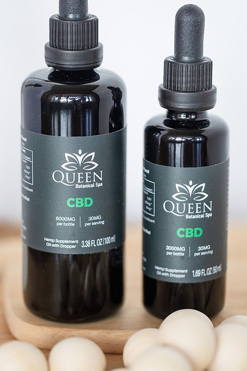 Queen Botanical Spa CBD Oil 3000MG