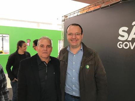 Prefeito busca recursos para Balbinos junto ao Vice-Governador e Presidente do FDE