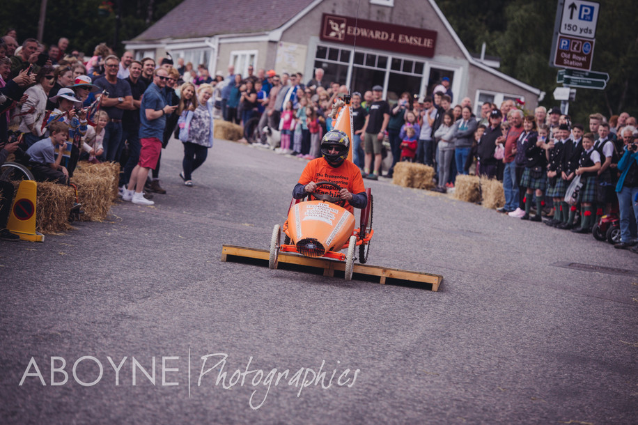 "Ballater Victoria Week - ""Destruction derby"""