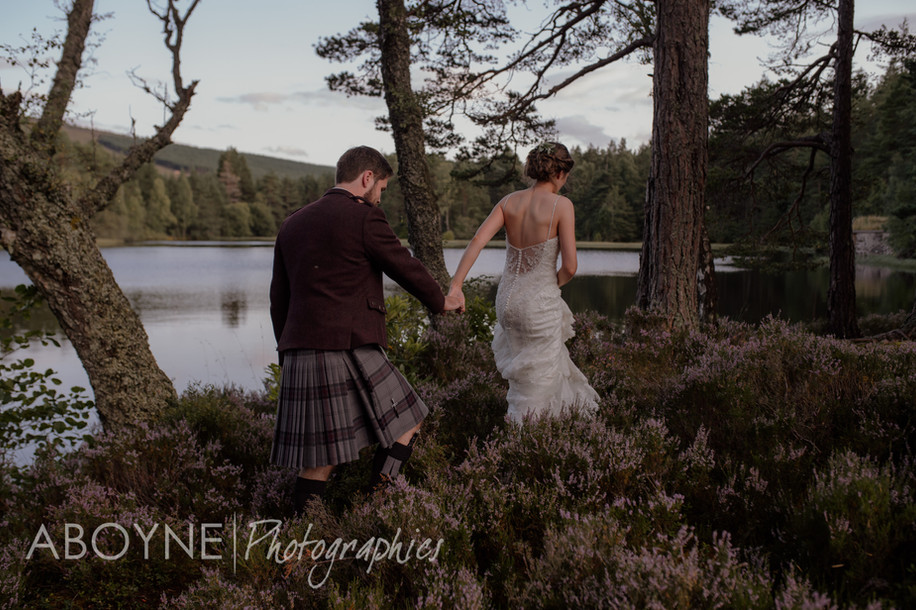 "Glen Tanar - "" Rain on your wedding day """