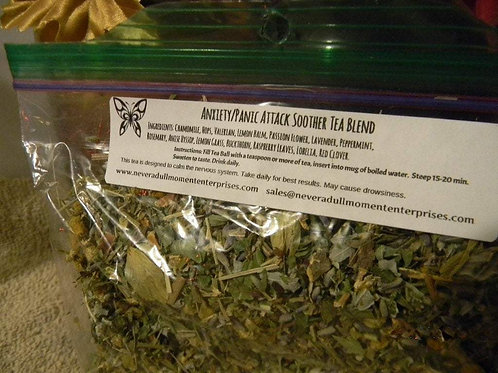 Anxiety/Panic Attack Soother Tea Blend
