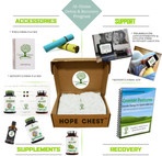 HOPE CHEST botanical subscription box for detox and recovery