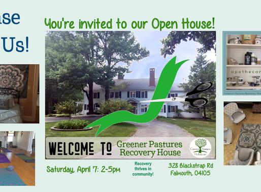 We're Having An Open House!
