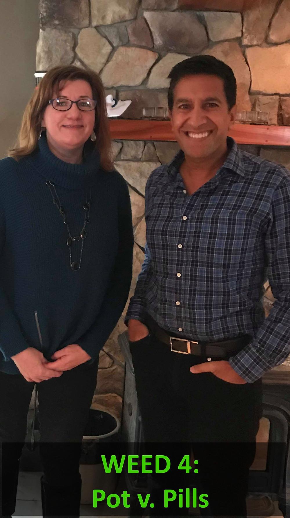 Roxanne Gullikson and Dr. Sanjay Gupta Weed 4: Pot v. Pills on CNN