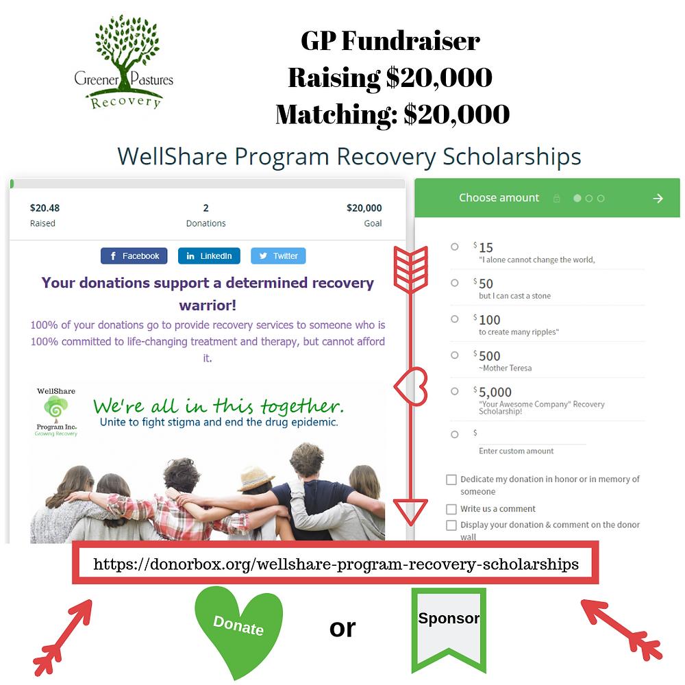 Greener Pastures Addiction Treatment Program Fundraiser