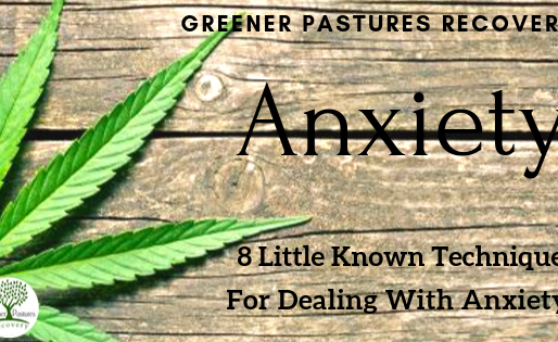 8 Little Known Techniques For Dealing With Anxiety