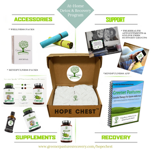 Hope Chest at-home recovery subscription box