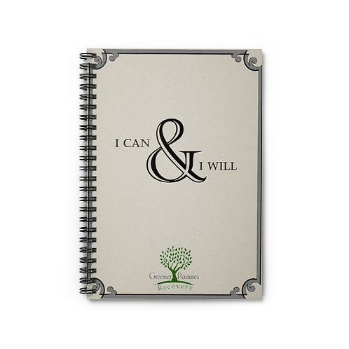 Recovery Journal: I Can & I Will