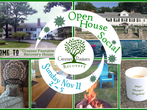 This Sunday! Open House Social at Greener Pastures