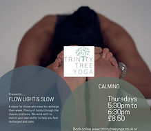 Thursday 5.30 Light and Slow Insta class
