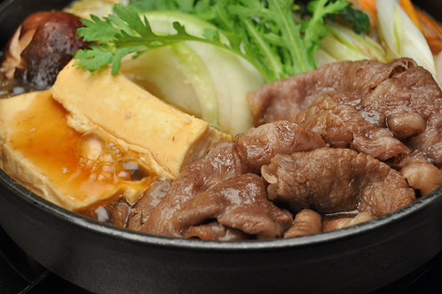 【まるよし】松阪牛すき焼き肉(肩・モモ 300g)