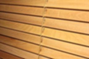 Ahşap Jaluzi / Wooden Blind / Motorlu Jaluzi