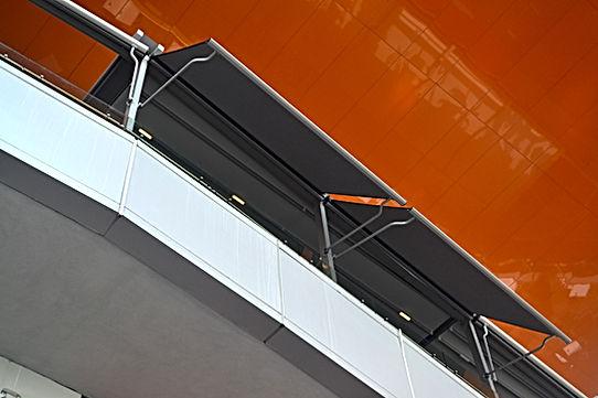 Balkon Tentesi,Dış Cephe Perdesi, Dış Perde,Balkon Gölgeleme