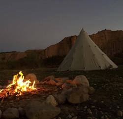 Jacobs Ridge Winter Tent Location