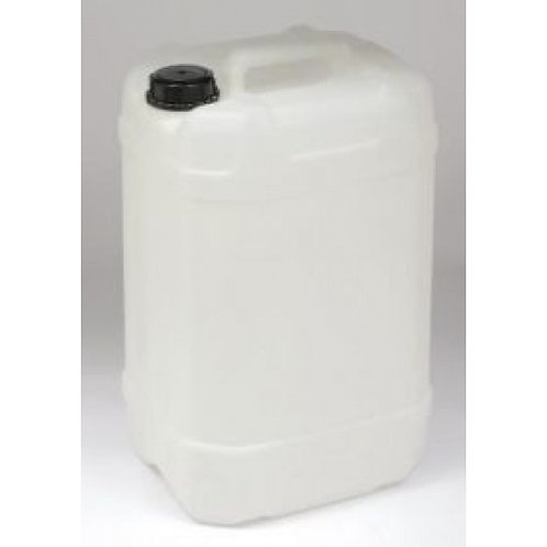 25 litres of drinking water