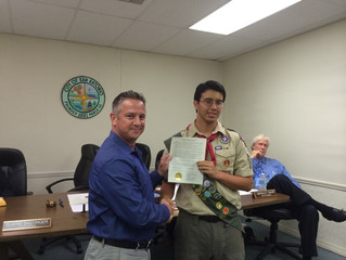 Newest Eagle Scout Joseph Nystrom