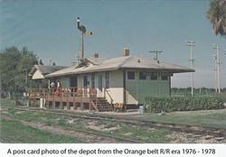 Orange Belt Post card San Antonio
